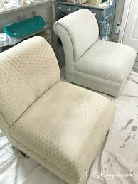 painted upholstered chair makeover tutorial h20bungalow