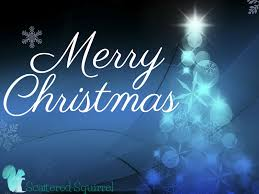 merry christmas to all scattered squirrel