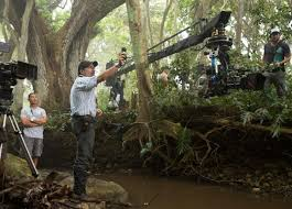 the park is open in jurassic world panavision