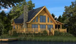 the rockbridge a log home floor plan with a loft