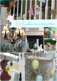 Homesense Easter Decorations by Easter Decorating Ideas Mossy Bunny Easter Mantel A Pop Of