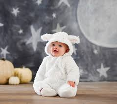 Infant Skunk Halloween Costume Baby Lamb Costume Pottery Barn Kids Pour Le Bébé