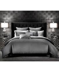 Macy Bedding Comforter Sets Inc International Concepts Rizzoli Gunmetal King Comforter Set