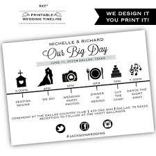 Destination Wedding Itinerary Template Wedding Programs Posh Pixel Designs Online Store Powered By
