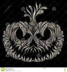 halloween 2016 background vector la cara de risa en la calabaza para halloween 2016 stock de