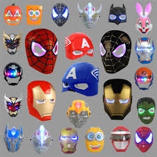 masks for kids masks children kids glowing factory cheap happy