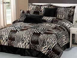 Cheetah Print Comforter Queen Cheetah Print Bedding Amazon Com