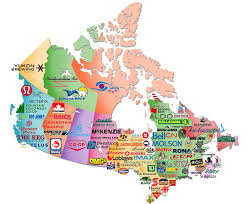 Map The Usa by Mackalski On Marketing Brand Map The Branded Provinces And