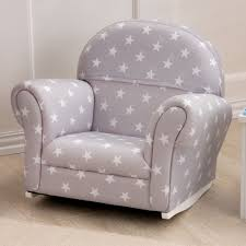 Papasan Chair Frame Amazon by Kidkraft Upholstered Gray With Stars Rocker 18688 Hayneedle