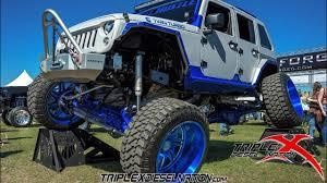 badass blue jeep twin turbo cummins jeep life youtube