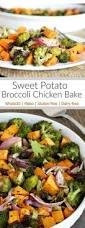 this asparagus sweet potato chicken skillet recipe is a delicious