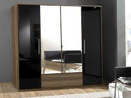 bedroom stunning wardrobe closet with mirror mirrored doors