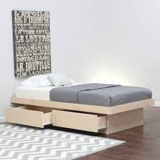 Plans For A Twin Platform Bed Frame by Twin Platform Bed Frame With Storage 6887 Beatorchard Com