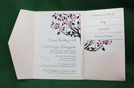 wedding invitations inserts wedding invitations with pockets and inserts 100 images