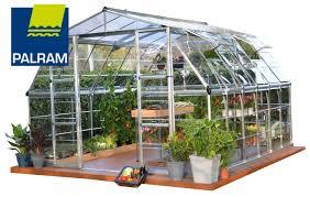 Greenhouse Palram Palram Four Season Americana Silver Hobby Greenhouse 12 X 12 Ft
