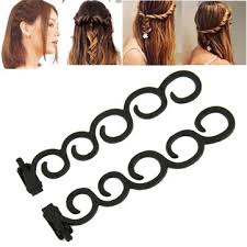bun clip waterfall twist roller back hair styling clip stick bun maker