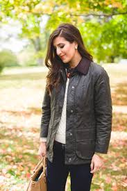 barbour wax jacket a southern drawl
