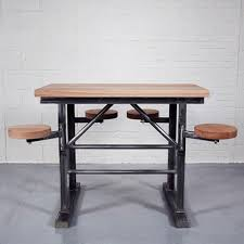 Industrial Bar Table Homebarn Industrial Ship S Bar Table Industrial Tables And