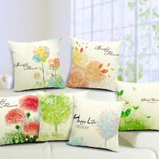 Beautiful Sofa Pillows by Spring Open Your Door With 10 Easy Décor Ideas Blindsgalore Blog