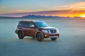 nissan armada trim levels 2017 nissan armada first look review motor trend