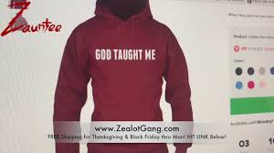 zauntee god taught me hoodie is back happy thanksgiving free