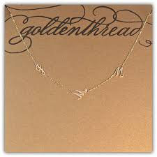 children s initial necklace for golden thread giveaway melanie knopke