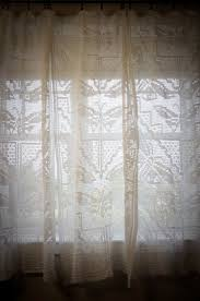 Rooster Lace Curtains by 78 Best Crochet Curtains Images On Pinterest Crochet Curtains