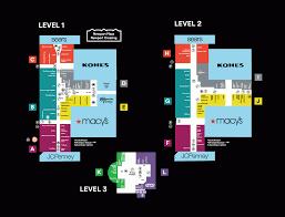 Stonebriar Mall Map Stoneridge Mall Map Center Map Of Stoneridge Shopping Centerâ A