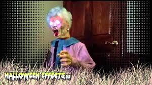 spirit halloween number halloween effects animated wheelchair granny youtube