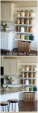 Kitchen Shelf Ideas 20 Diy Floating Shelves Shelves Kitchens And Walls