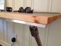 Wall Mounted Desk Shelf Ideal Short Space With Wall Mount Desk Marku Home Design