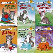 6 books set first i can read mittens children story books children