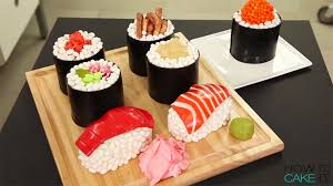 cake how to sushi cake how to make an ultra realistic sushi platter shaped