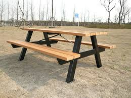 Picnic Table Frame Innovative Picnic Table Metal Purchase Picnic Tables Expanded
