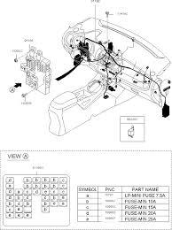 919503w031 genuine kia junction box as