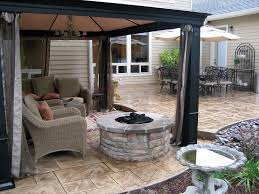 vancouver firepit design firepit installation by greenhaven