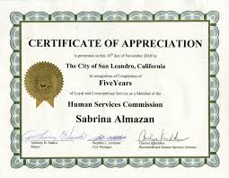 sample text for certificate of appreciation certificates for years of service expin radiodigital co