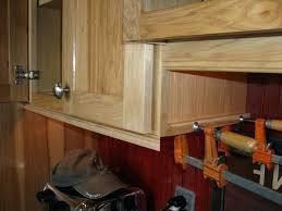 kitchen cabinet trim moulding cabinet moulding crown molding on kitchen cabinets before and after
