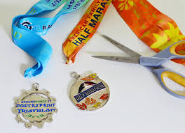 turning race medals into ornaments house