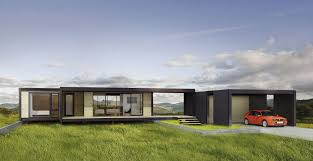 great over hill modern prefab home design using flat roofing style amazing modular modern prefab home inspiration with flat roof style and glass sliding door