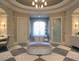 Desk Molding Traditional Master Bathroom With Specialty Door By Marc Michaels