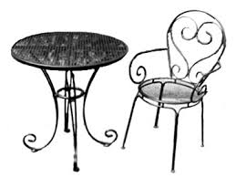 Wrought Iron Bistro Chairs How To Make Bistro Set Comfortable And Beautiful Blogalways