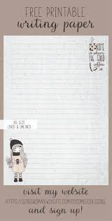 writing stationery paper 10 best writing paper free printables images on pinterest free printable writing paper available as a download when you become a member at https