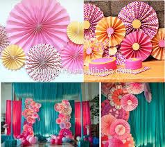 paper fan decorations the thick paper fan decoration paper fan decoration for