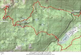 National Geographic Topo Maps Waldo 100k Ultramarathon Maps