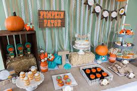 pumpkin baby shower rustic pumpkin fall baby shower