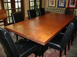 hammered copper dining table ideal dining chair art design with dining tables beautiful copper