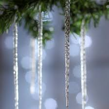 clear acrylic icicle ornaments ornaments