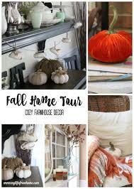fall home tour cozy farmhouse autumn decor fall decor seasonal