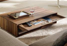 Coffee Table With Storage Modern Coffee Table With Storage Interesting Modern Coffee Tables